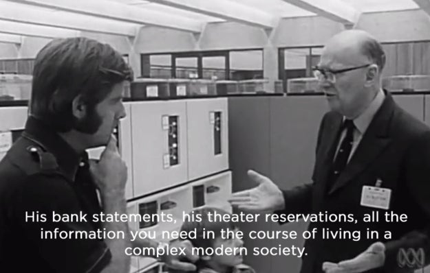 Watch Arthur C. Clarke predict the computers of today, in 1974