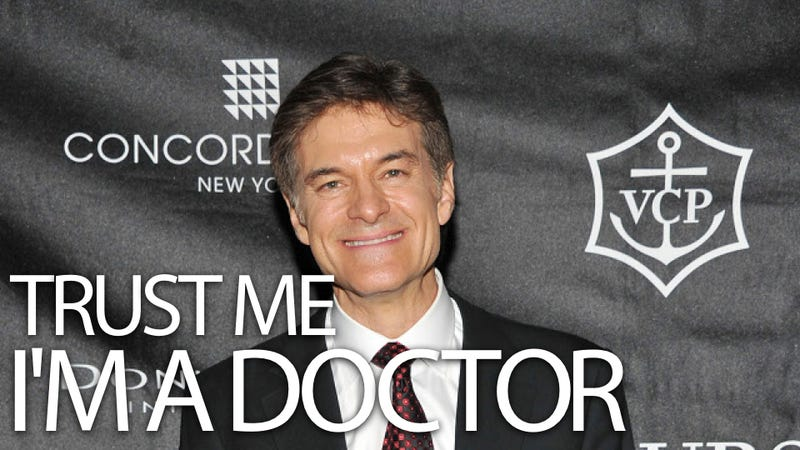 This Is Why Dr. Oz Is Worried About Apple Juice
