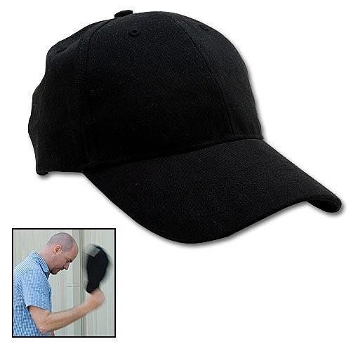 Sap Cap Packs a Blackjack Into a Black Hat