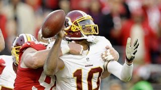 Report: RGIII Benched, Colt McCoy To Start Against Indianapolis