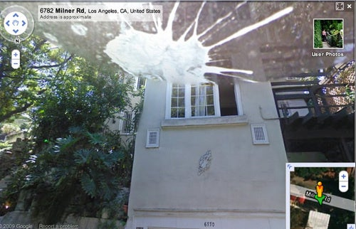 Google Street View Cam Attacked By Bird Crap