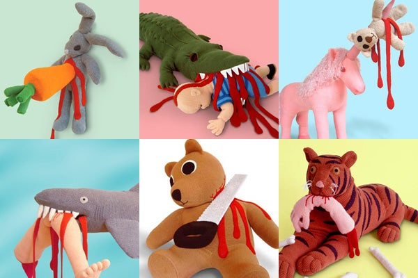 Macabre Plush Toys Are Perfect Xmas Gift for Future Psychokillers