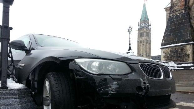 Canadian Senator Falls Asleep Driving BMW on Parliament Hill