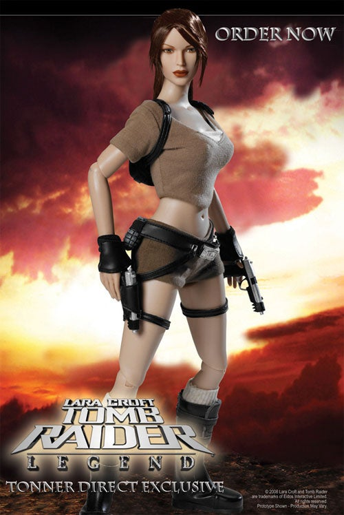 This Is How You Make A Lara Croft Action Figure