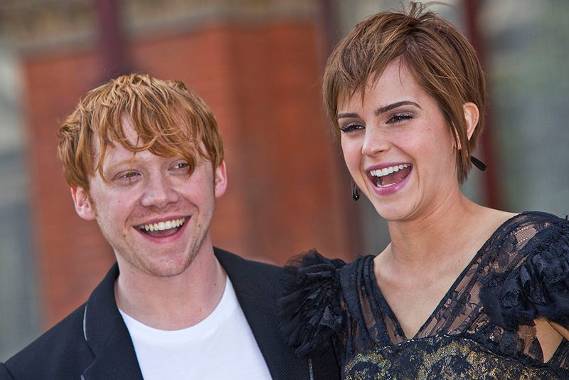 J.K. Rowling Thinks Harry and Hermione Should've Ended Up Together