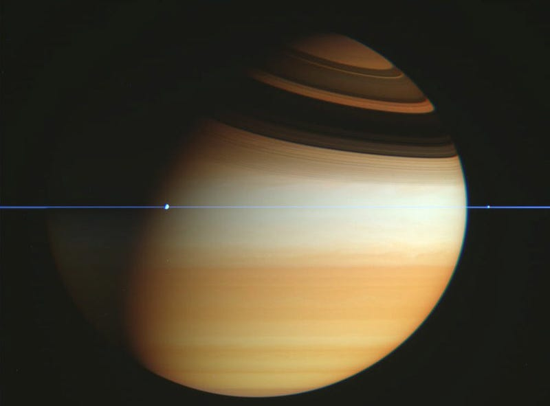 Where Did Saturn's Rings Go?