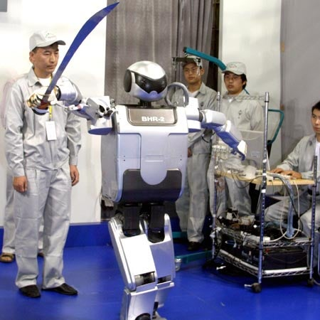 Chinese Tai Chi Robots Can Wield Swords, Sever Limbs