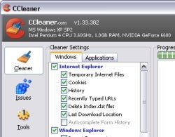Download of the Day: CCleaner 1.34.407 (Windows)