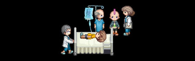 Fantasy Hospital Game With