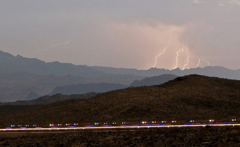 One Killed, Seven Injured by Lightning in Northeastern Colorado
