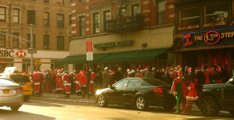 Any Santacon Participant is the Worst Person in New York Right Now