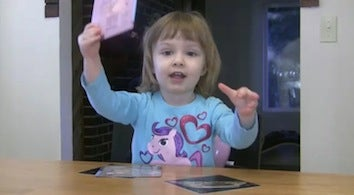 2-Year-Old Girl Knows Periodic Table Better Than You Do