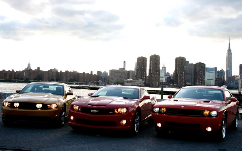 Ford Concedes Camaro Will Outsell Mustang In 2010