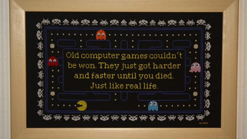 A Tribute to Old Games (and Life!)