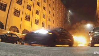 A behind the scenes look at the insane stunts of<i>Fast and Furious 7</i>
