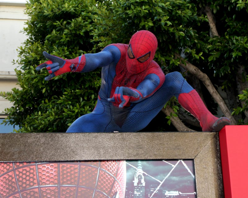 Spider-Man Steals $6000 in Hollywood