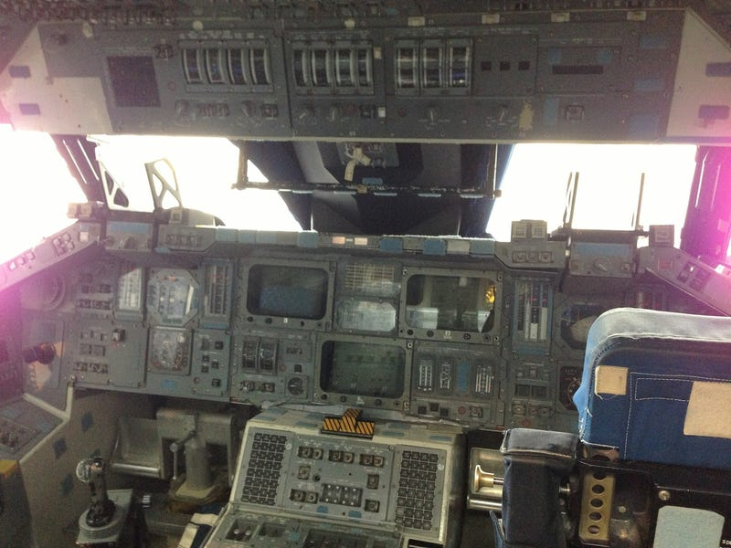 I Took This Amazing Tour Inside the Space Shuttle. So Should You.