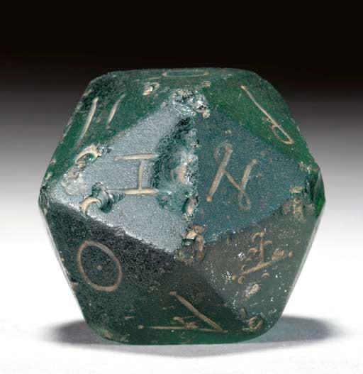 The Ancient Romans Were Gamers: 2nd Century Glass d20 Sold for $17,925