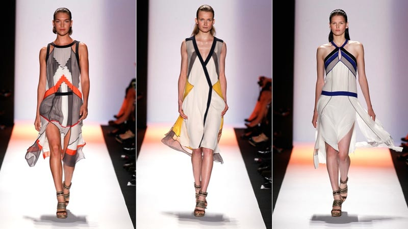 BCBG Spring 2012: Coloring Inside Of The Lines
