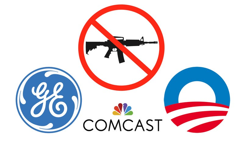 Is Obama Conspiring With Big Business to Destroy the Second Amendment?