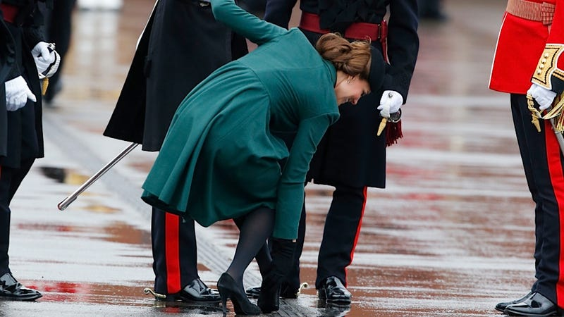 Kate Middleton Confides in a Irish Guardsman That She Really Wants a Baby Boy