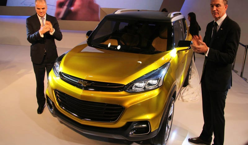 The Chevrolet Adra Concept Is GM's Kia Soul For India