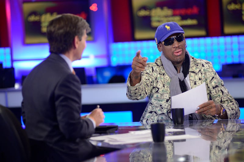Dennis Rodman Says Kim Jong Un Just Wants Obama to 'Call Him'