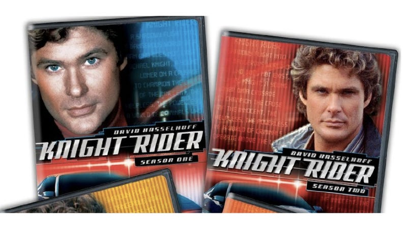 Get The Entire Knight Rider Series On DVD For 56% Off Today Only