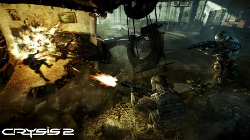 Examining the Multiplayer Maps of Crysis 2