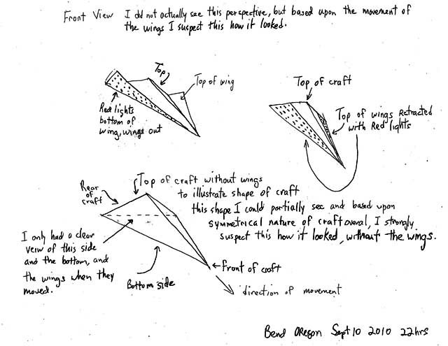 Awesomely detailed spaceship schematics created by an Oregon UFO witness