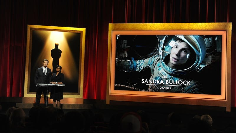 Here Are This Year's Gravity-Loving Oscar Nominations
