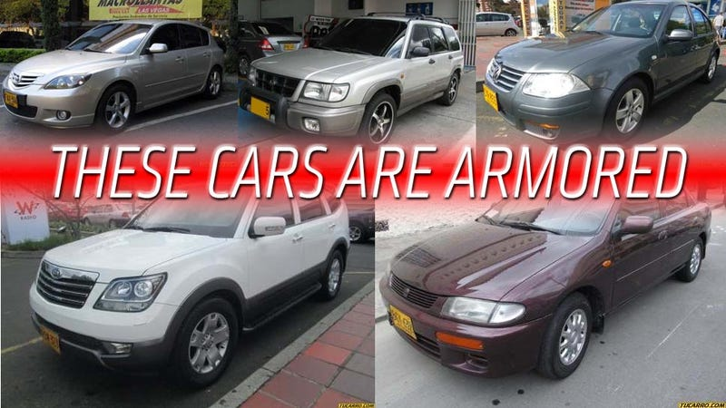 These Armored Cars Are Unbelievably Inconspicuous