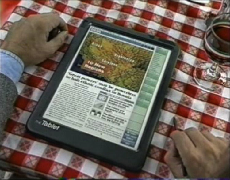 Tablet Newspaper (1994)