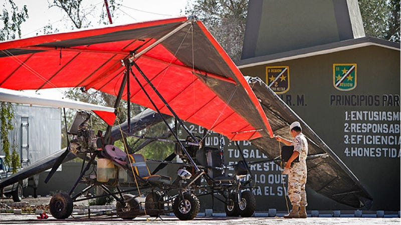 Drug Smugglers Flying High on Ultralights