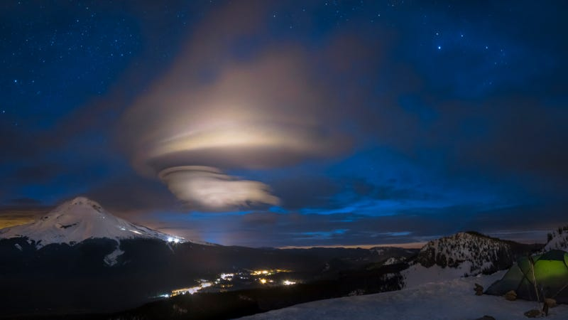 The kind of cloud that's most often mistaken for a UFO