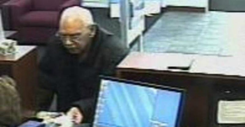 Elderly Former Convict Robs Bank Because He Missed Jail