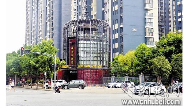 Chinese Building Looks Like a Giant Bird Cage