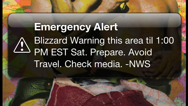 That Blizzard Emergency Warning Text That Just Scared The Bejeezus Out of You