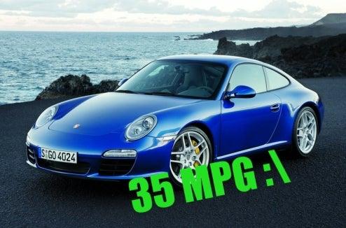 How To Get 35 MPG In A Porsche 911