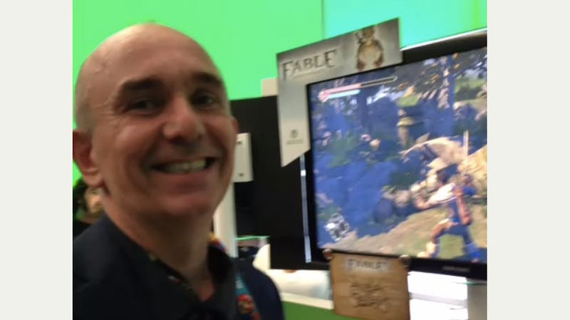 Peter Molyneux, 30 Seconds After Seeing Someone Else's Fable Re-Make