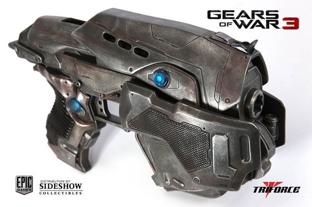 Don't Take This Gears of War Pistol to the Airport