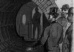 In 1870, New Yorkers Whooshed Under the City Via Pneumatic Tube