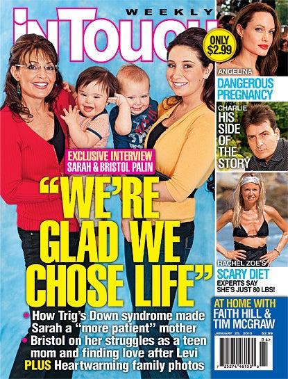 Sarah Palin's Magazine Cover a Big Failure