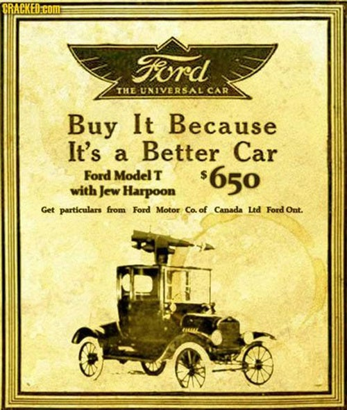 Ford Model T: Complete With Jew Harpoon