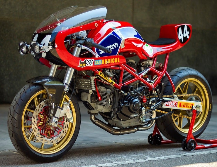 This is (was) a Ducati Monster