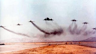 This SR-71, F-14, F-4 Formation Shot Is An Air Combat Dream Come True