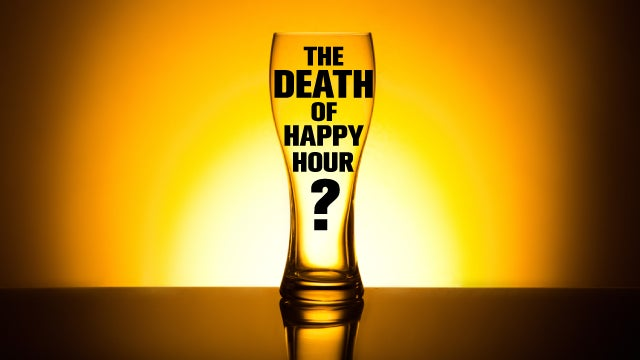 Department of Health Reportedly Considering a Ban on Happy Hour (UPDATED)