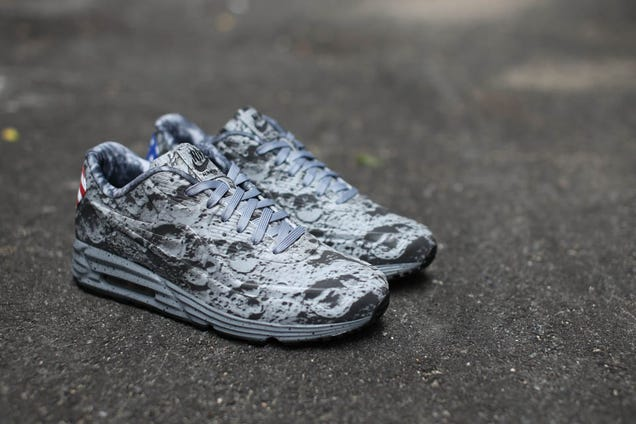 These lunar shoes make you feel like you're walking on the moon