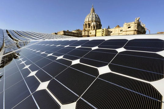 Vatican Building Europe's Largest Solar Plant, Start Worshipping Sun God
