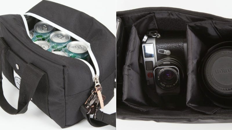 For the Photographer Boozehound: A Lens Bag That's Also a Cooler
